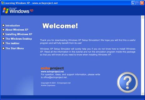 الويندوز winxp_simulator
